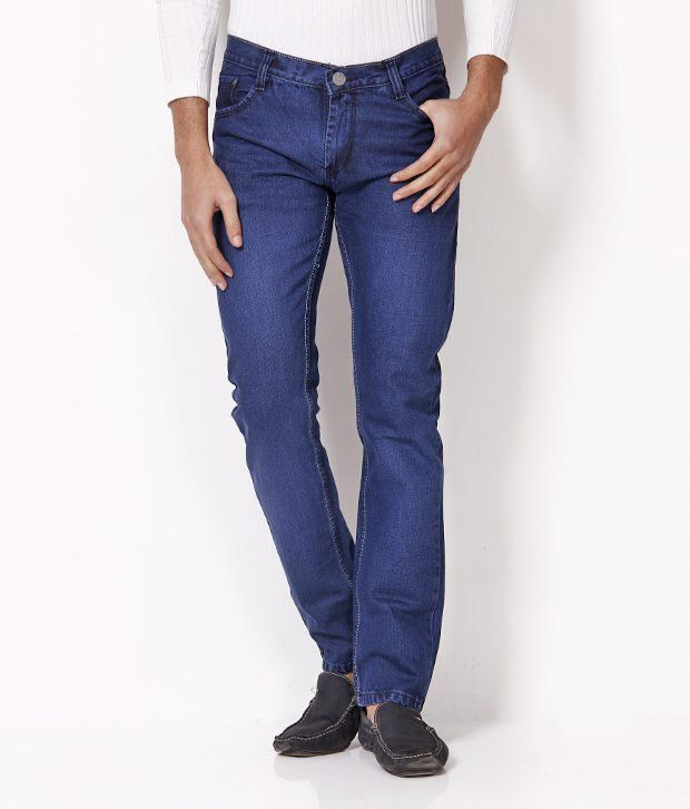 HDI Charming Blue Jeans with Free Belt