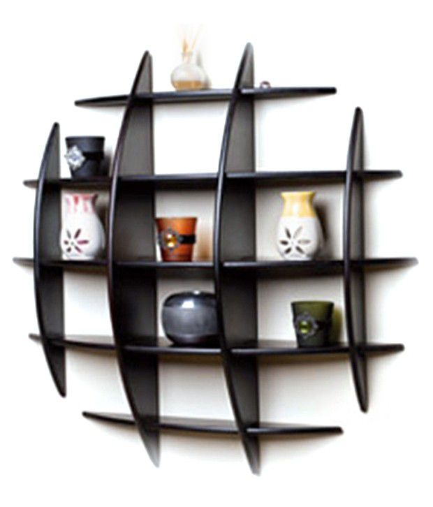 Floating Book Shelf In Black Buy Floating Book Shelf In