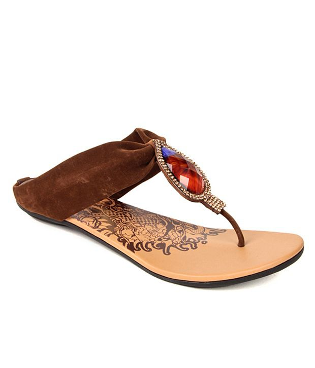 Evetoes Classy Brown Flats