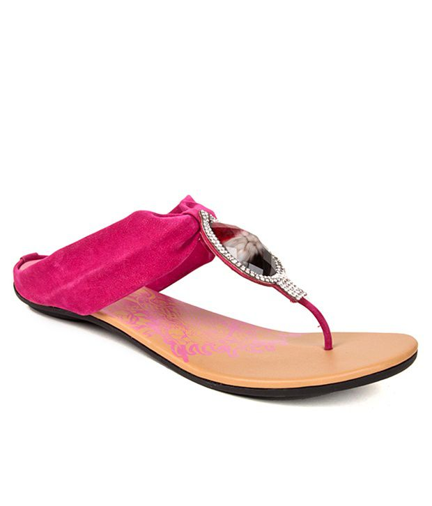 Evetoes Magnetic Pink Flats