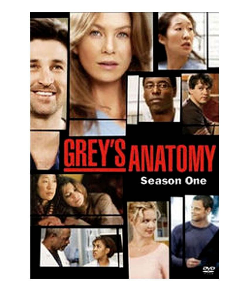 Grey\'S Anatomy Season 1 (English) [DVD]: Buy Online at Best Price in ...