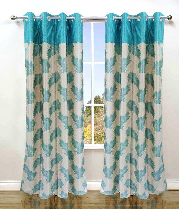 Aqua Blue Curtains Aqua Blue Ikat Grommet Curtain Single Panel