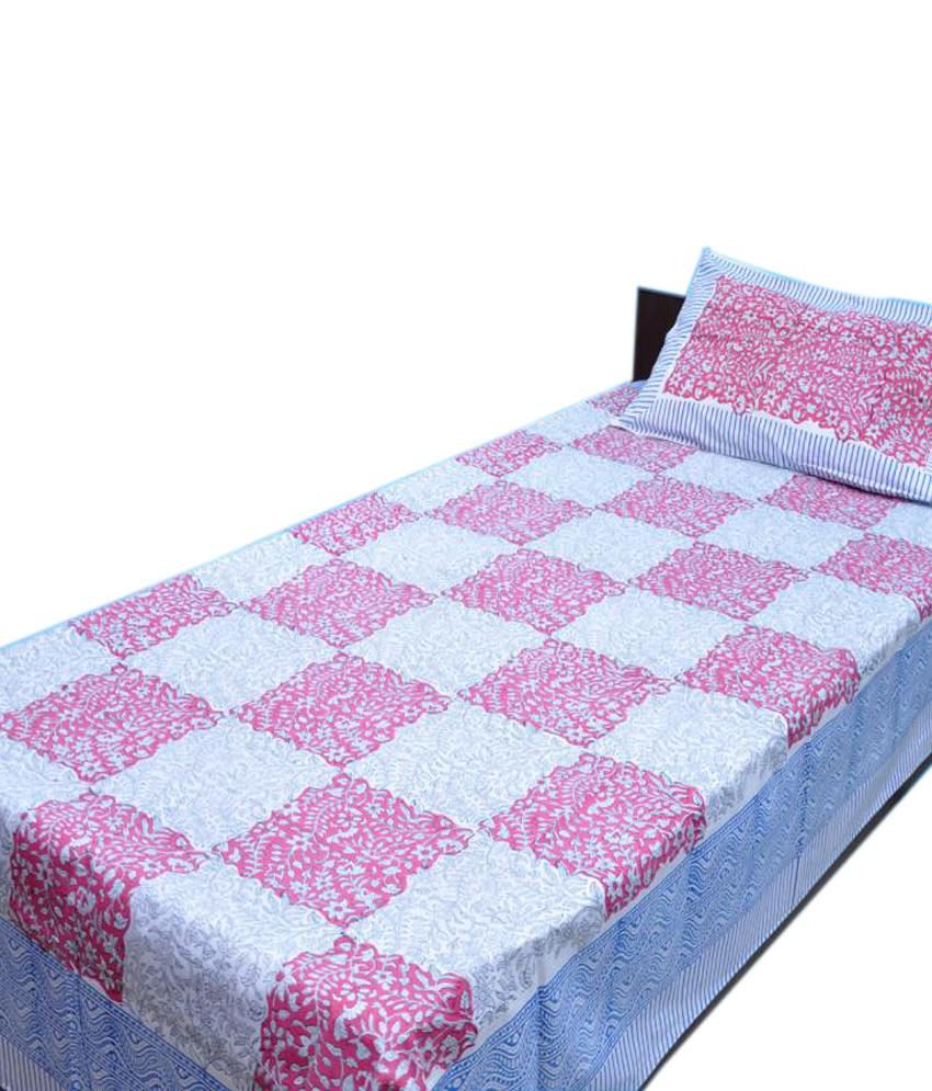 Jaipur Block Print Bed Sheets