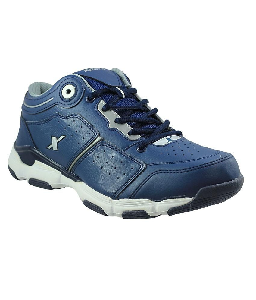 Sparx Navy Blue Sports Shoes - Buy