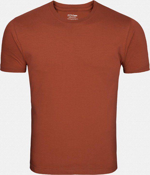 Zovi Exquisite Brown T Shirt