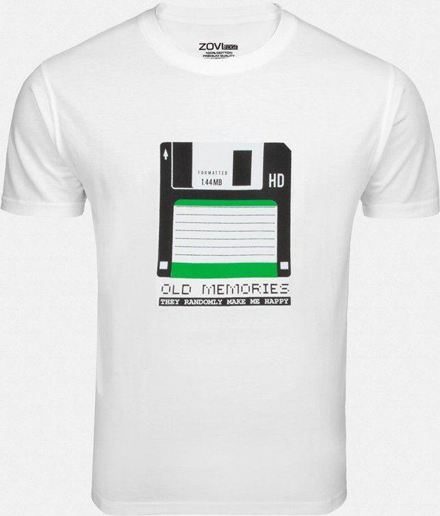 Zovi Refined White T Shirt