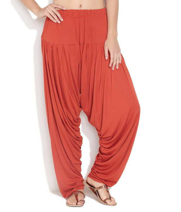 c822263711a5d5 GO COLORS Red Cotton Patiala Salwar Price in India - Buy GO COLORS Red  Cotton Patiala Salwar Online at Snapdeal
