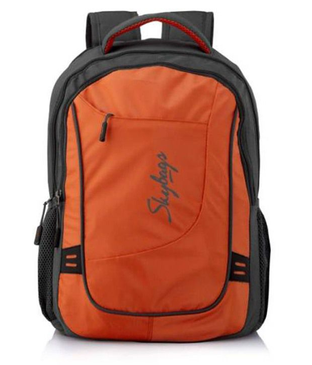 Skybags Octane Orange 30 Litres Laptop Compatible Backpacks: Buy ...