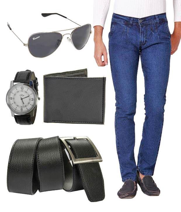 HDI Elegant Blue Basics Jeans With Freebies