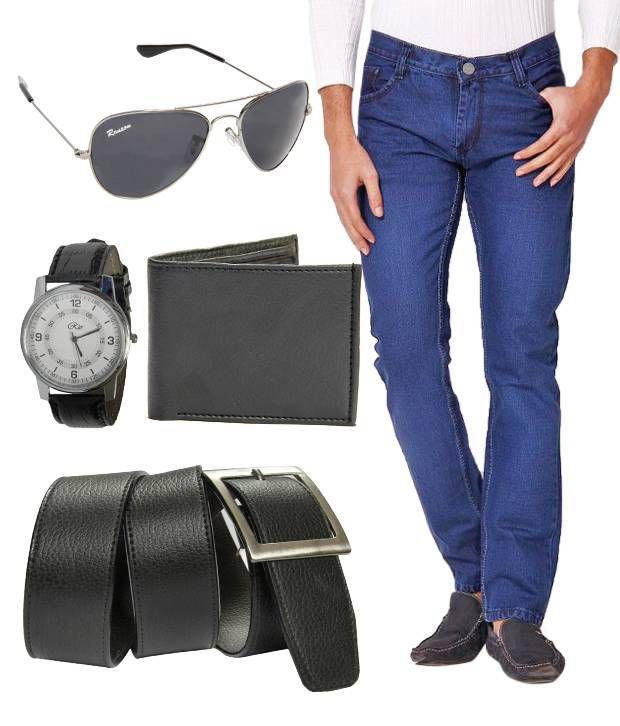 HDI Medium Blue Basics Jeans With Freebies