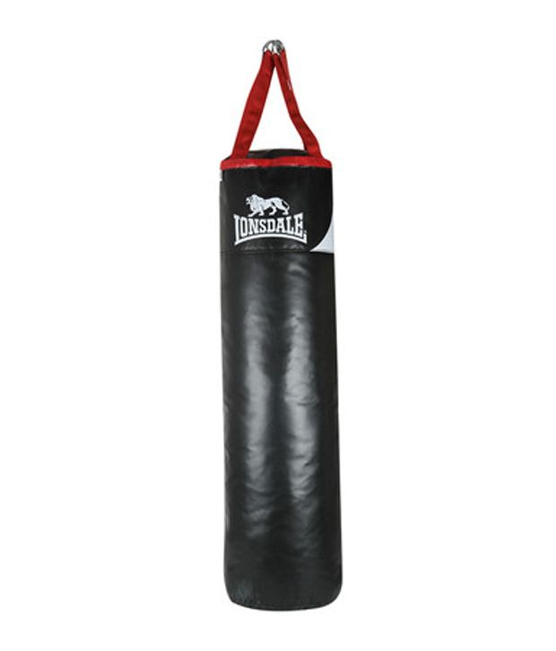 Lonsdale Heavy Punching Bag 5 Feet Size 65lbs