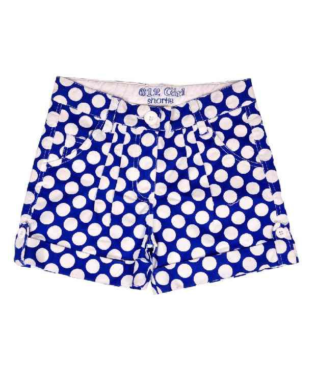 612Ivyleague Royal Blue Shorts For Kids