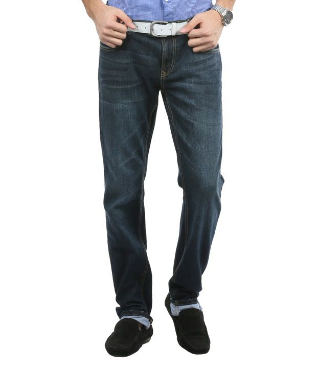 Blumerq Exclusive Blue Faded Jeans