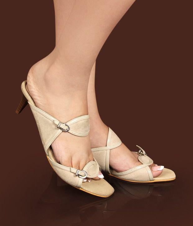 Catwalk Elegant Beige Sandals