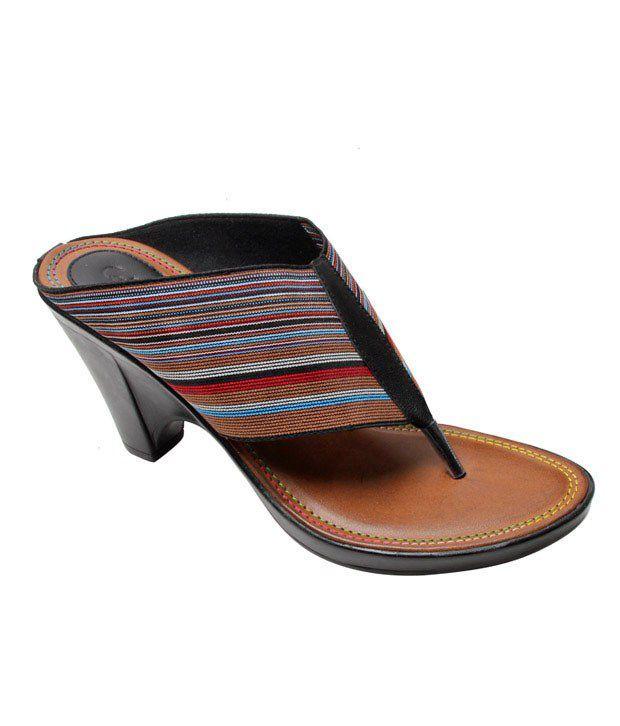 d3212cd3d Catwalk Exclusive Black Slip-on Sandals Price in India- Buy Catwalk  Exclusive Black Slip-on Sandals Online at Snapdeal