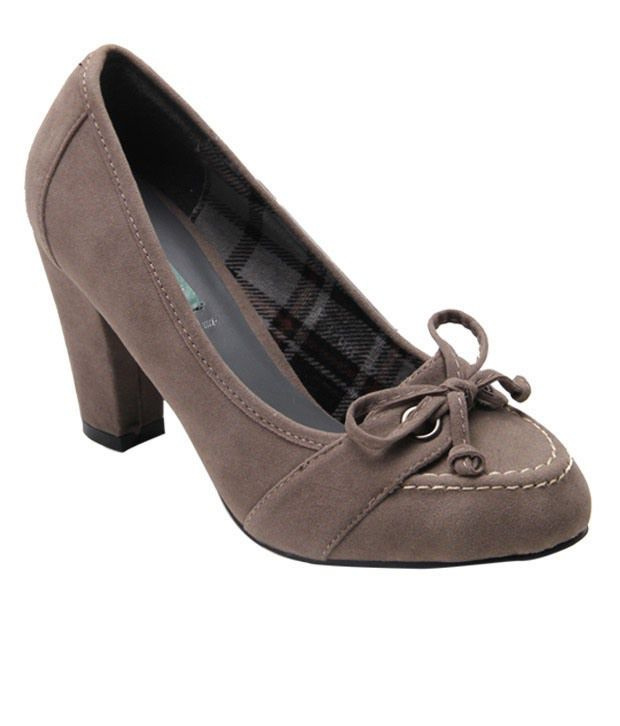 Catwalk Haughty Grey Belly Shoes