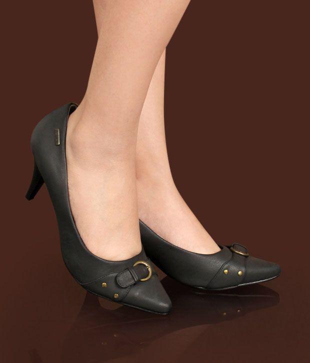 Catwalk Urbane Black Pump Shoes