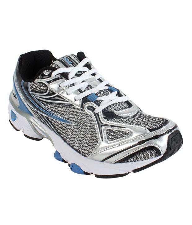 Fila Temptation Black & Silver Sport Shoes