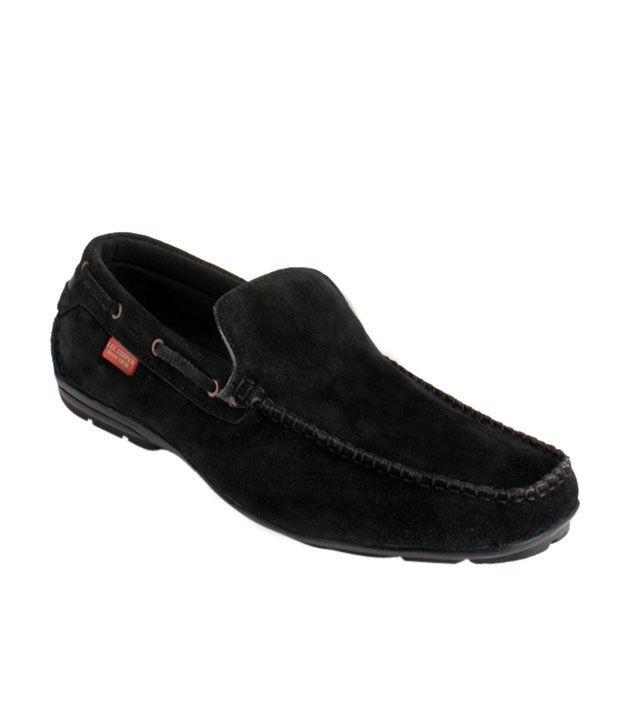 Lee Cooper Black Loafers