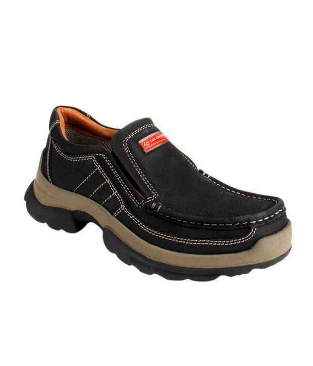 Lee Cooper Black Outdoor Shoes