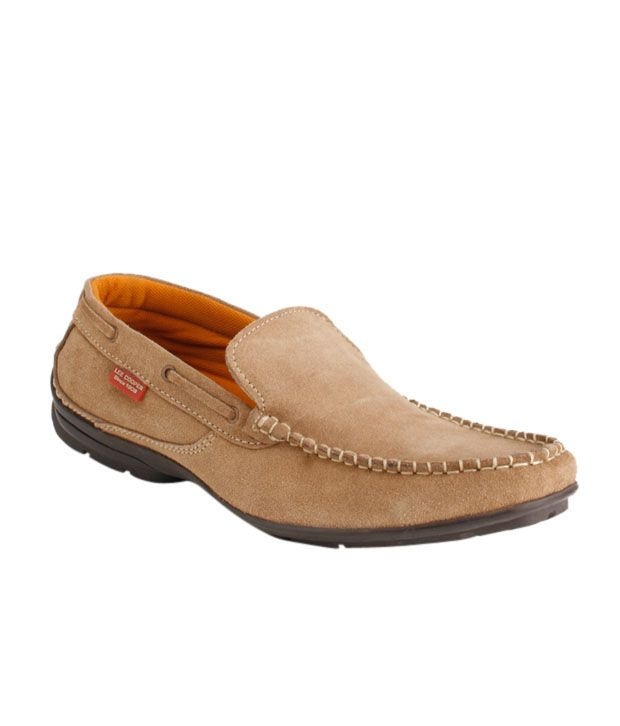 Lee Cooper Red Loafers