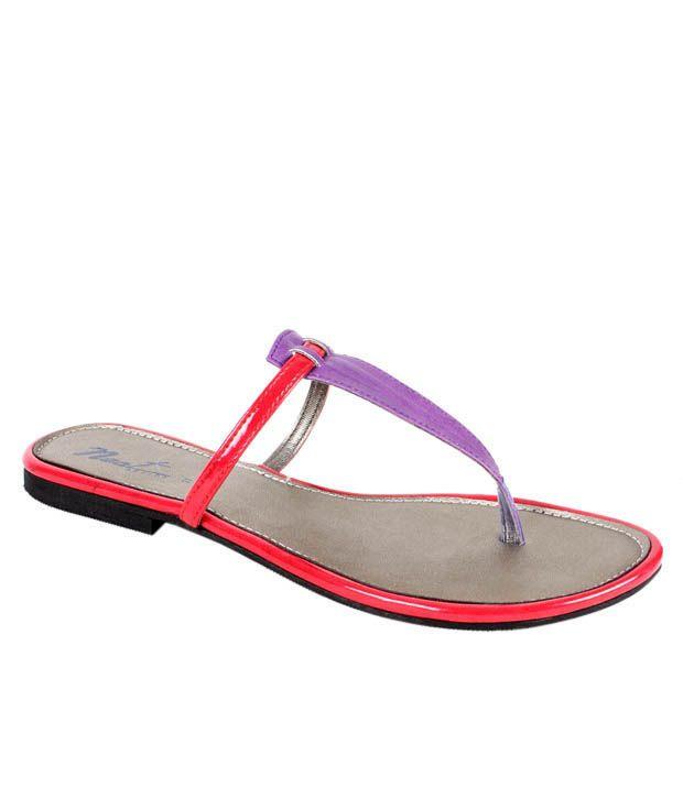 Neat Purple & Red Flats