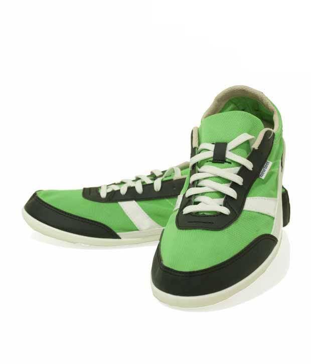NewFeel Green & Black Walking  Footwear 8169730