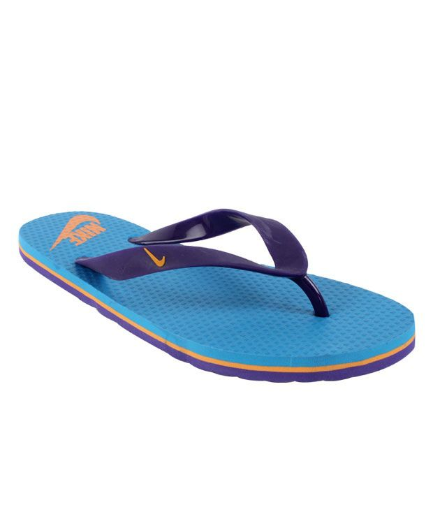 d50875801a22 Nike Aquahype Blue   Purple Flip Flops Price in India- Buy Nike Aquahype  Blue   Purple Flip Flops Online at Snapdeal