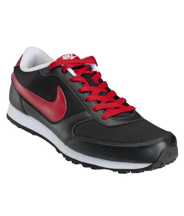 Nike Eliminate Black & Red Sports Shoes