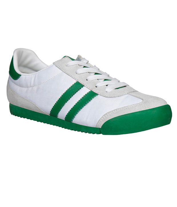 North Star Green & White Casual Shoes ...
