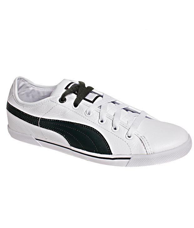 Puma Benecio Leather White \u0026 Black