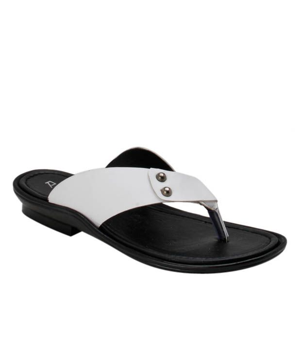 Roony Comfy White Slippers excellent LxRHTl0