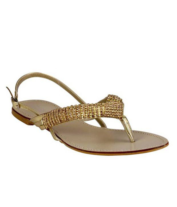 Steppings Golden Stones Flat Sandals
