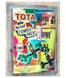 Tota Holi Gulal Herbal And Spray Combo