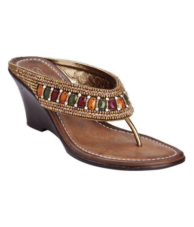 Catwalk Gorgeous Bronze Sandals