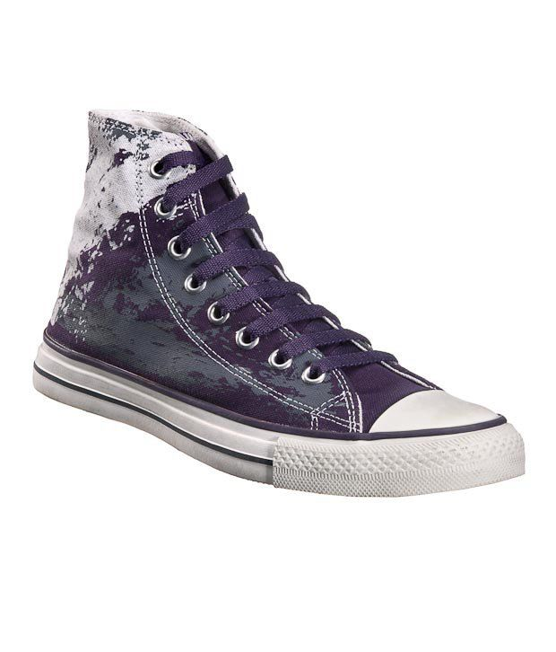Converse Purple Canvas Shoes