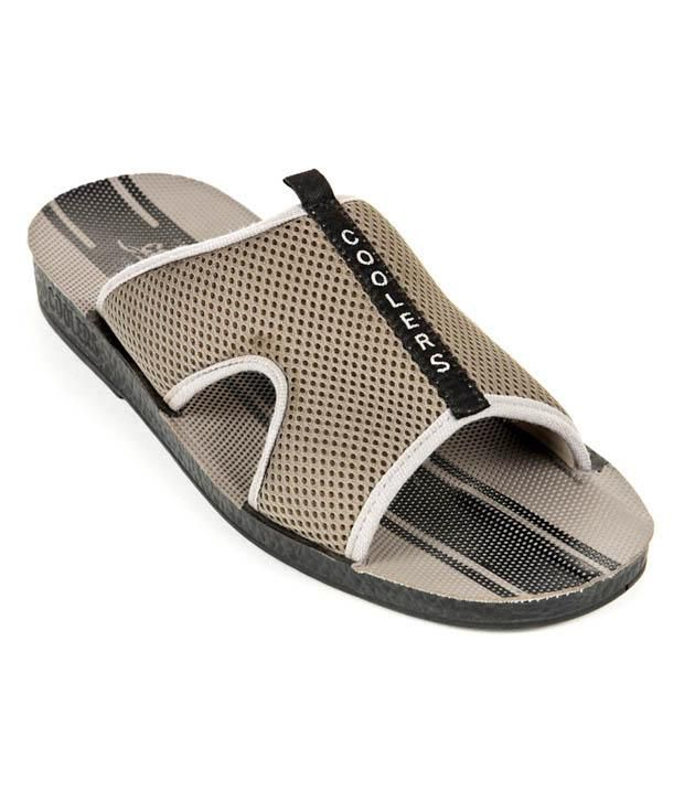 Liberty Coolers Relaxing Grey Slippers