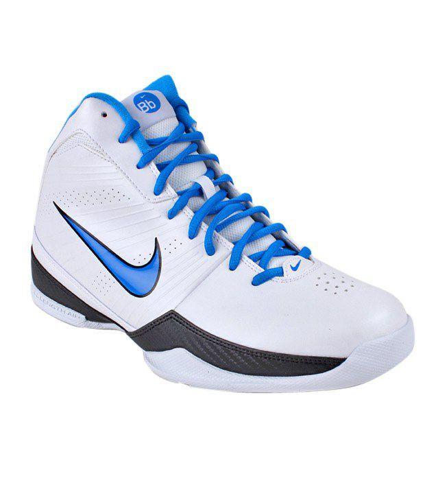 Nike Air Quick Handle White Basketball Shoes
