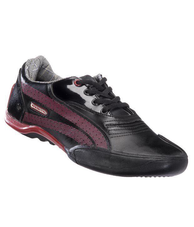 Numero Uno Black & Red Casual shoes