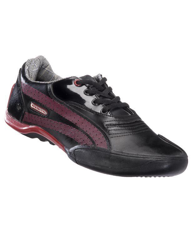 Numero Uno Black & Red Casual shoes