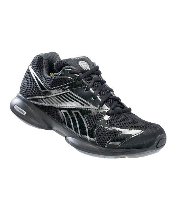 9c1071710f79 Reebok Easytone Black   Dark Silver Walking Shoes Price in India- Buy Reebok  Easytone Black   Dark Silver Walking Shoes Online at Snapdeal