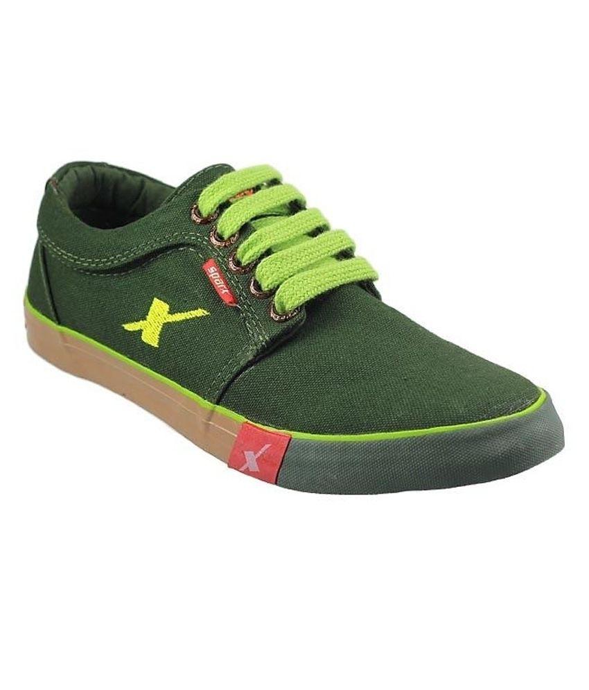 Buy Online Sparx Canvas Shoes
