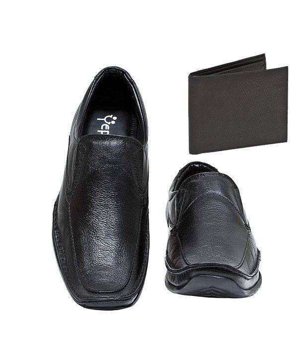 Yepme Black Formal Shoes