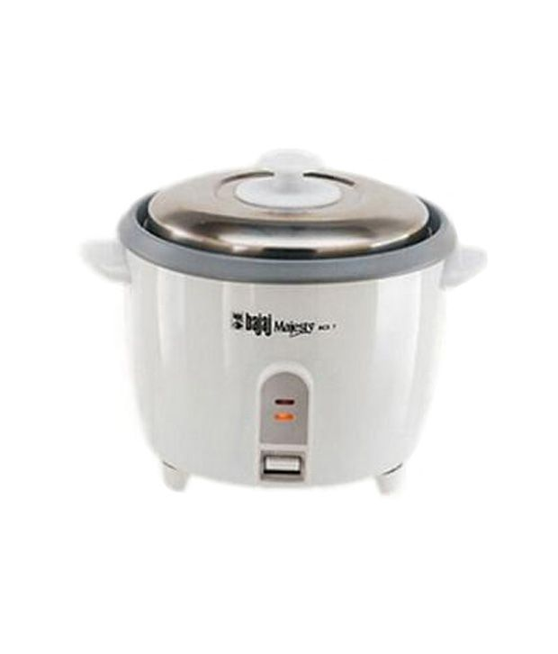 Bajaj 1.8 L RCX5 Automatic Electric Cooker White