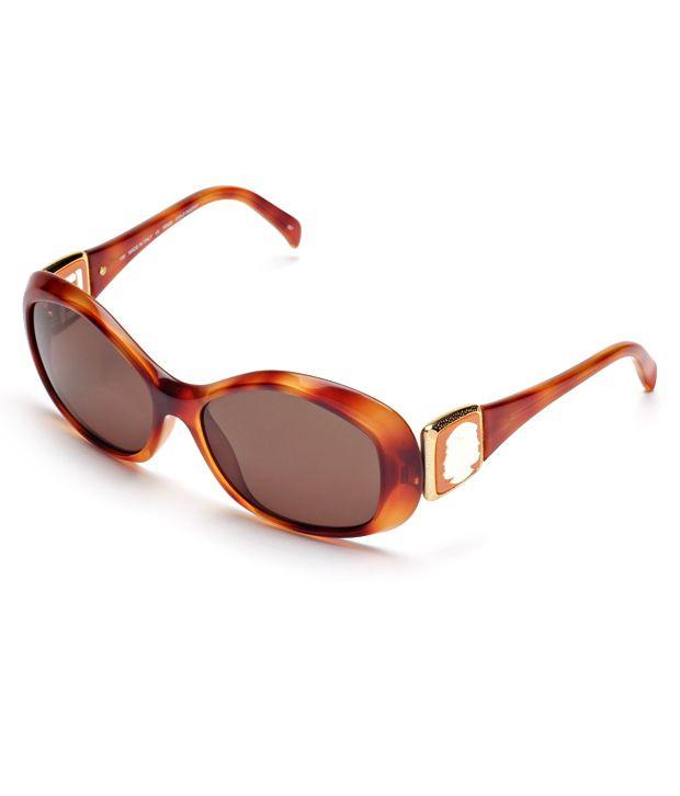 Fendi Fendi Oval Fs5126s-218 Women's Sunglasses
