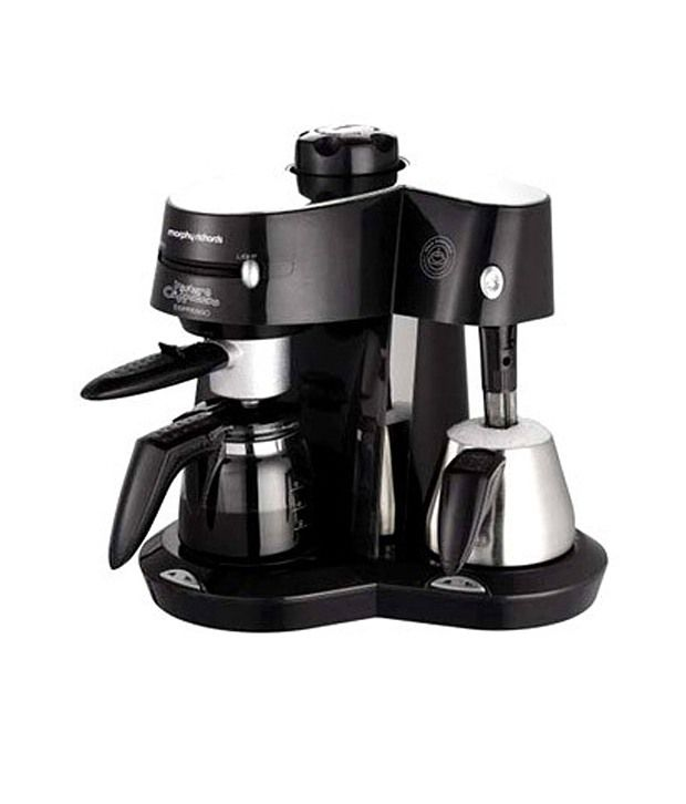Morphy Richards 10 Cups Cafe Espresso Coffee Maker Black Price in India - Buy Morphy Richards 10 ...