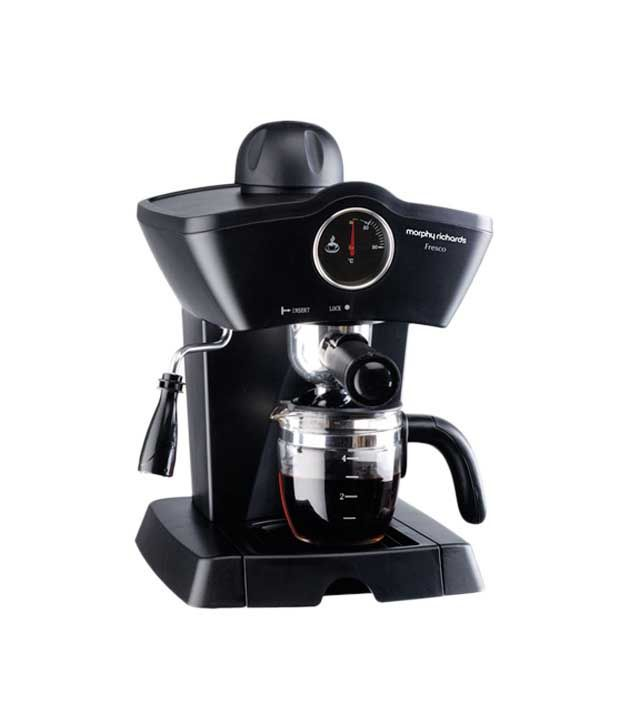 Morphy Richards Coffee: Morphy Richards 4 Cup Fresco Coffee Maker Black Price In