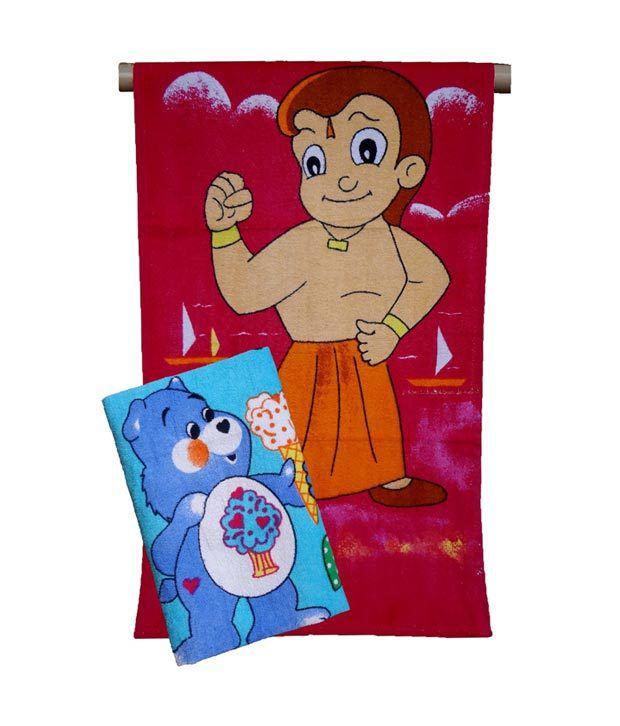 Elegant Kids Bath Towel-Pack of 2