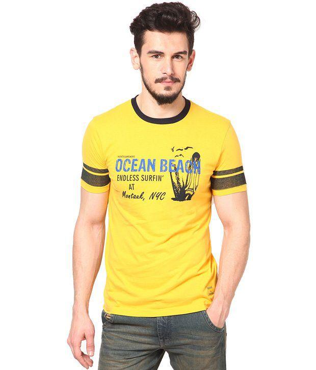 Monteil & Munero Yellow T Shirt