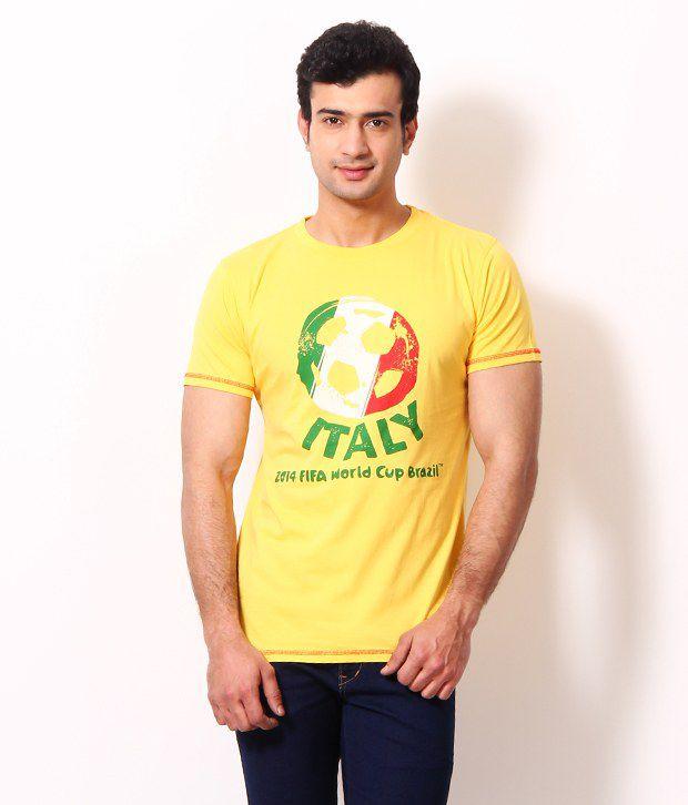 Riot Chic Yellow T Shirt